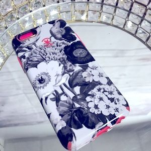 Speck iPhone 6s Black & White Floral Phone Case